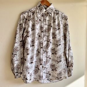 Vintage Evan Picone Button Down size 10